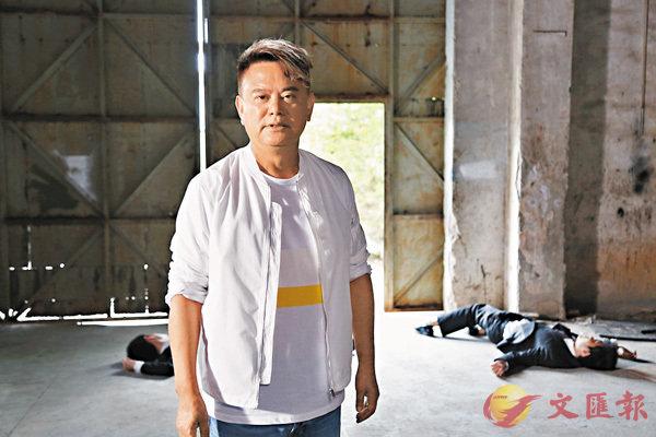 ■陳百祥在劇集《賭城風雲》中飾演「是旦哥」。