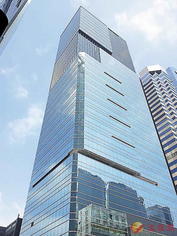 ■圖為九龍灣恩浩國際中心。 資料圖片