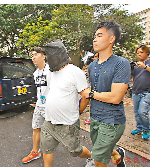 ■警方拘捕一名涉嫌收受外圍馬賭注的男子。