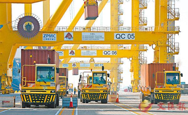 ■斷交風暴阻礙貿易。圖為多哈港口。