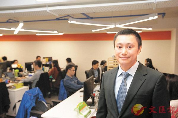 ■WeLend創辦人龍沛智坦言,初創金融科技公司想突圍而出,必先尋找人才和金主。香港文匯報記者潘達文  攝