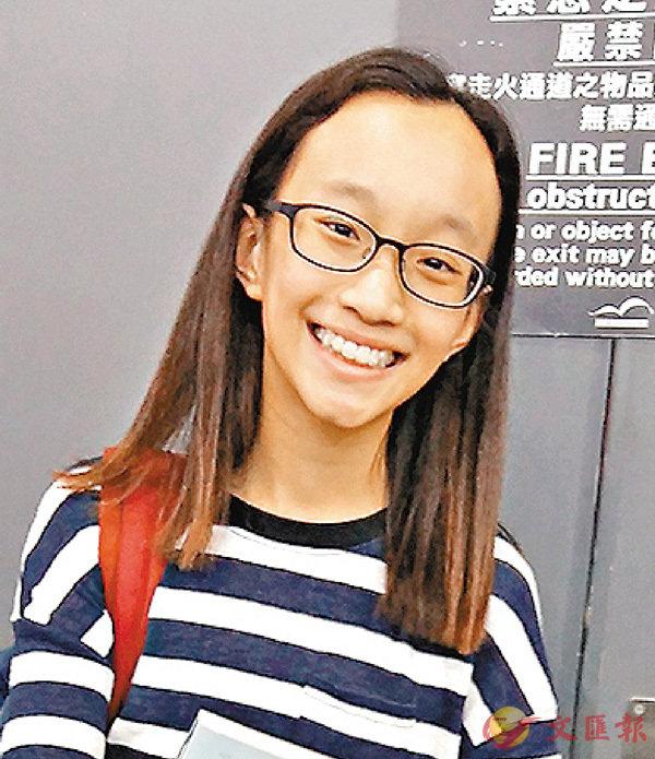 ■王同學  香港文匯報實習記者陳鳳鳴 攝