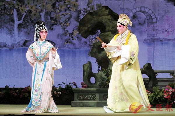 ■阮德文和李沛妍年初時合作演出過《佳偶天成》。