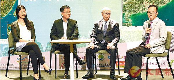 ■幾代留台港生分享經歷。香港文匯報記者殷翔  攝