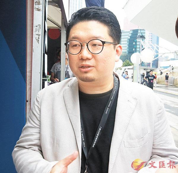 ■香港復古遊戲展覽創辦人胡耀東。