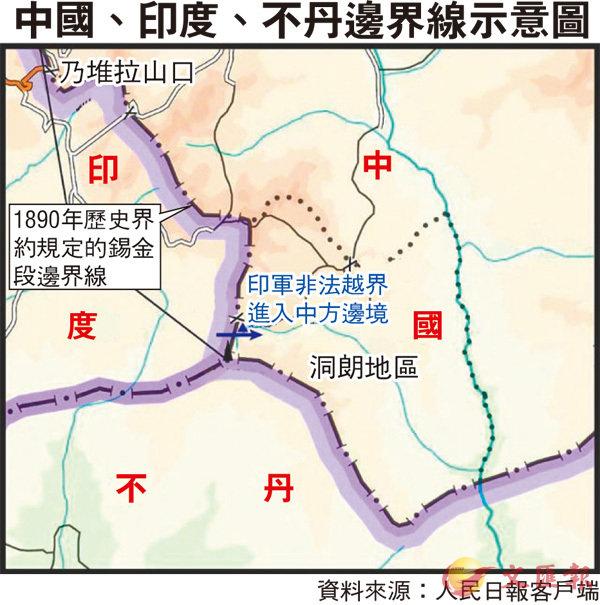新華社:印軍若不撤  嚴重後果自負 (圖)