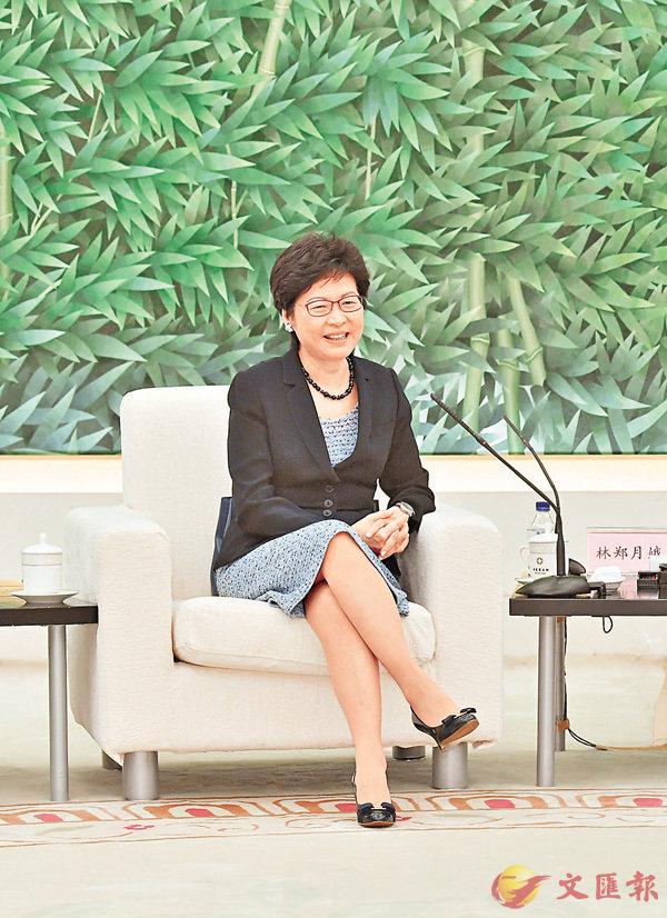 ■特首林鄭月娥在今次北京之行,曾拜會多個部委,並作工作會晤。