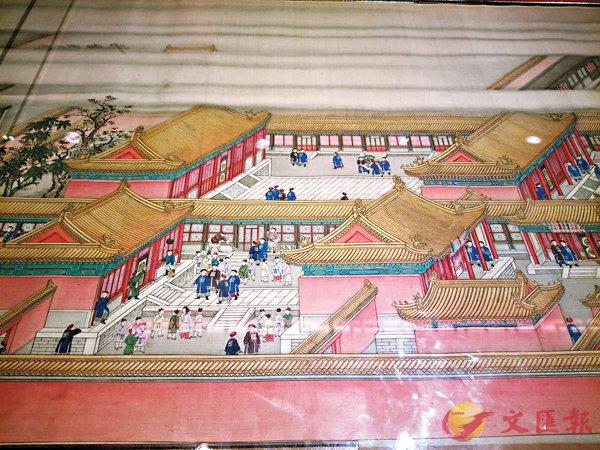 ■《崇慶皇太后萬壽圖》是今次展覽的焦點展品之一。