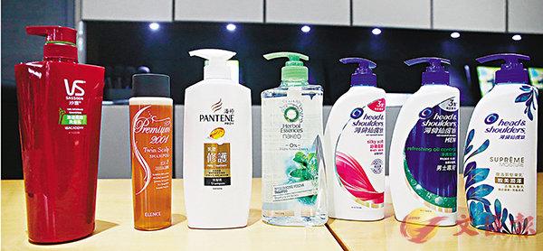 7款洗頭水二噁烷超標 (圖)