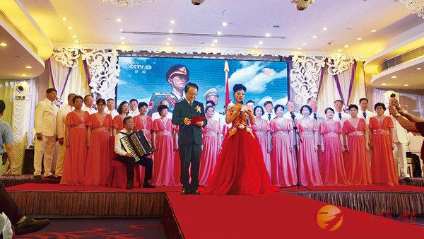 ■上海市工人文化宮藝術團獻藝香港慶祝建軍90周年