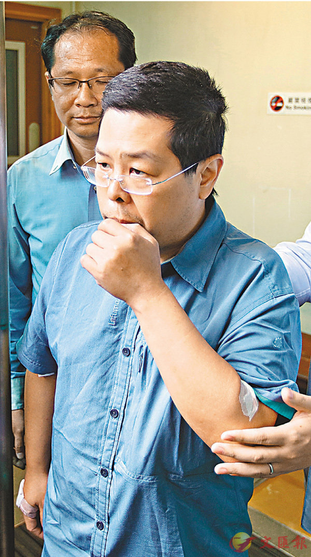 ■林子健案押後至下月14日再提堂,他獲准保釋但不得離港。