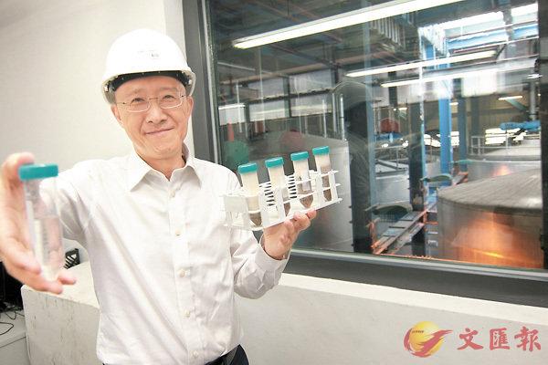 ■ASB將棕櫚硬脂轉化為生物柴油。香港文匯報記者彭子文  攝