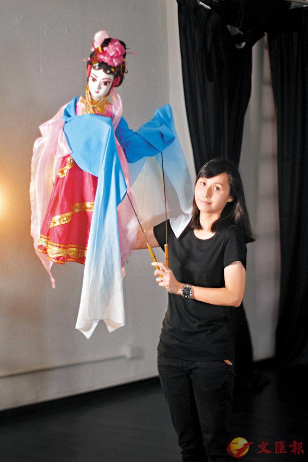 ■Janet最擅長的是杖頭木偶表演。