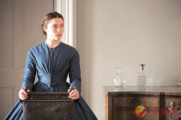 ■《馬克白夫人的誘惑》由英國女新星科倫絲佩芝演出,令人眼前一亮。