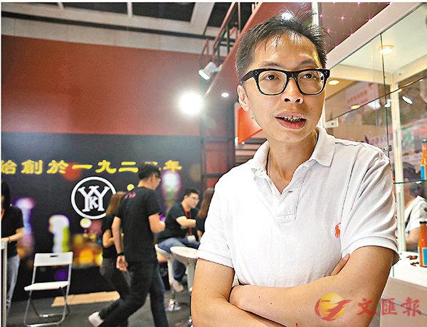 ■余均益董事總經理余啟超。香港文匯報記者莫雪芝  攝