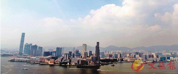 ■昨天本港多區空氣質素健康指數錄得10+,空汙嚴重。中通社