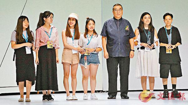 ■其中兩名獲獎香港設計師,Wan Jansco(右一)和王怡莎(右二)。香港文匯報記者帥誠 攝