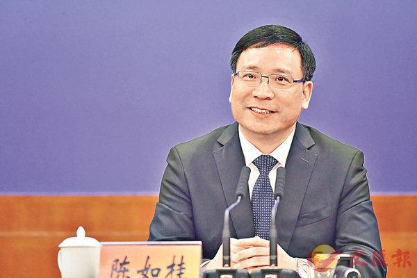 ■陳如桂當選深圳市長。 中新社