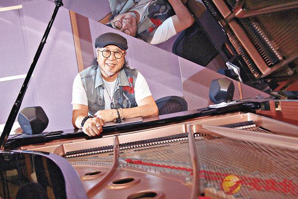 ■鮑比達音樂天賦過人,五歲開始學習鋼琴,十多歲便成為專業樂手。彭子文 攝