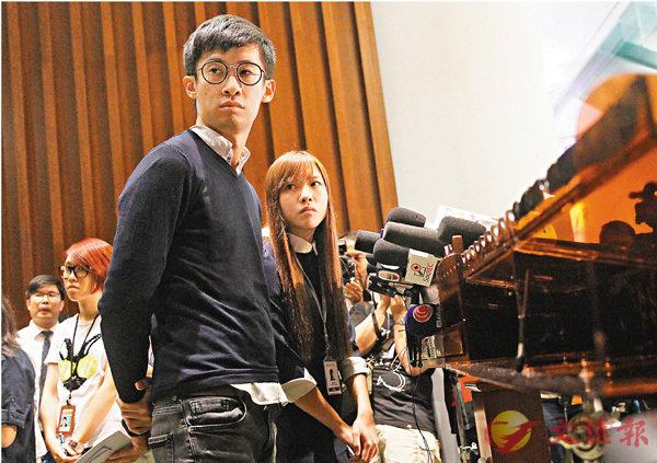 ■游蕙禎、梁頌恆須於下月12日前,向立法會退還近186萬元薪津。 資料圖片