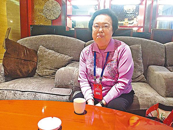 譚惠珠:「雙學三丑」不是「良心犯」