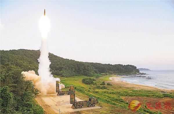 韓「超級導彈」劍指朝地堡 (圖)
