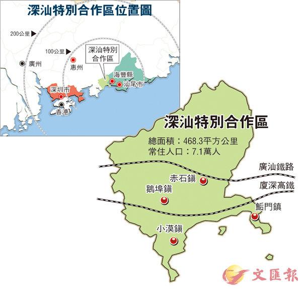 深汕合作區  深圳料主導 (圖)