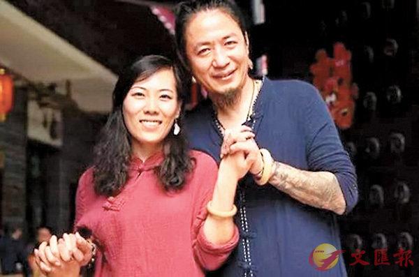 ■顧少強(左)在雲南邂逅丈夫于夫。網上圖片