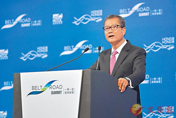 陳茂波:港與東盟合作將深化 (圖)