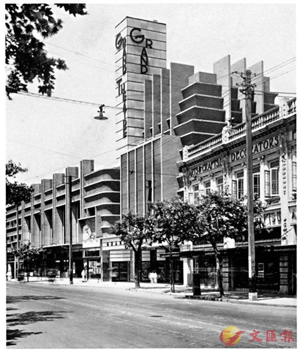 ■1930年代的上海大光明電影院。作者提供