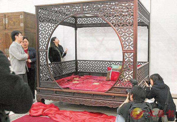 ■天圓地方是中國文化的重要組成部分,連傢具也有其影子。 資料圖片