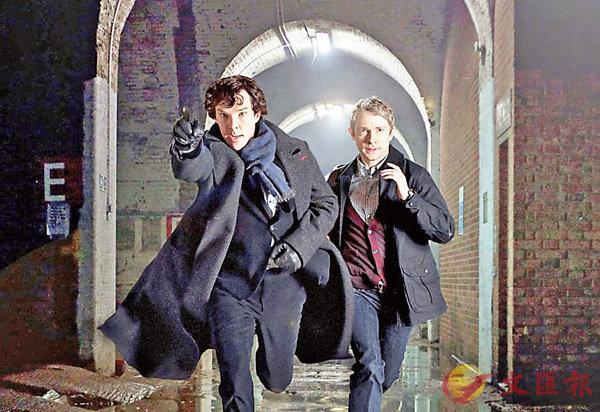 ■Benedict Cumberbatch(左)因此劇成為了新一代男神。 網上圖片
