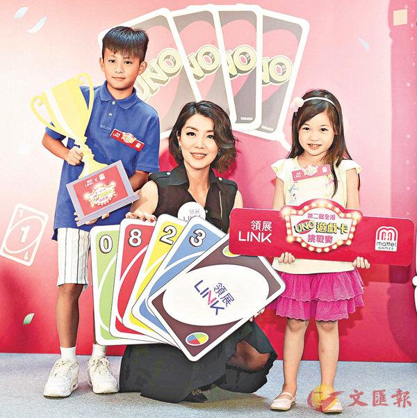 ■陳芷菁(中)鼓勵大家以遊戲促進親子溝通拉近小朋友及家庭的關係。