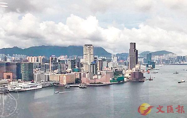 ■香港景色多美麗啊﹗ 作者提供