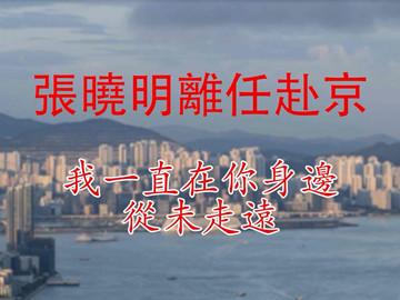 視頻|張曉明離任赴京 「我一直在你身邊,從未走遠」