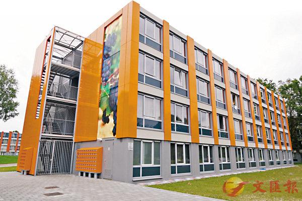 ■「單元預製」技術建造的「貨櫃屋」在外國已日漸通行,亦適合用於高層建築。