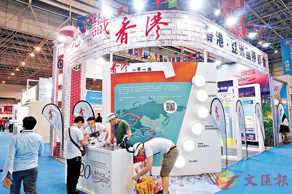 粵海絲博覽開幕  港智能產品受捧 (圖)