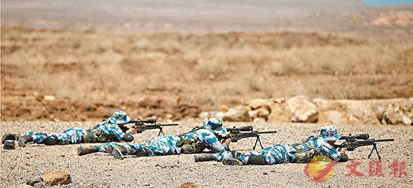 解放軍駐吉布提基地  首組織實彈射擊訓練 (圖)