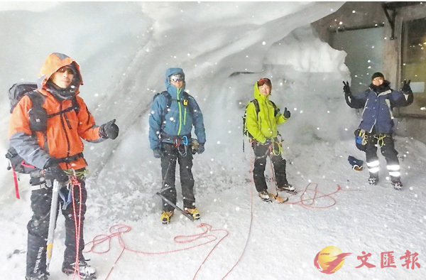 瑞士登峰遇雪崩  港男一死一傷 (圖)