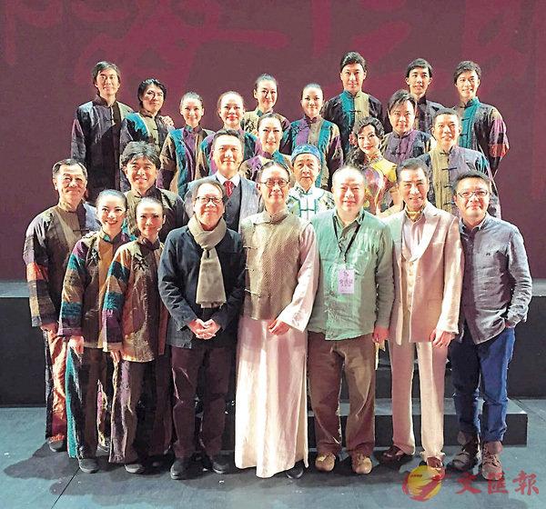 ■謝君豪主演的舞台劇《南海十三郎》曾獲得「年度經典覆排大獎」。 資料圖片