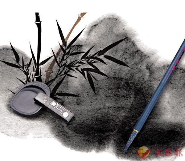 ■寫作和繪畫一切由墨筆開始。    網上圖片