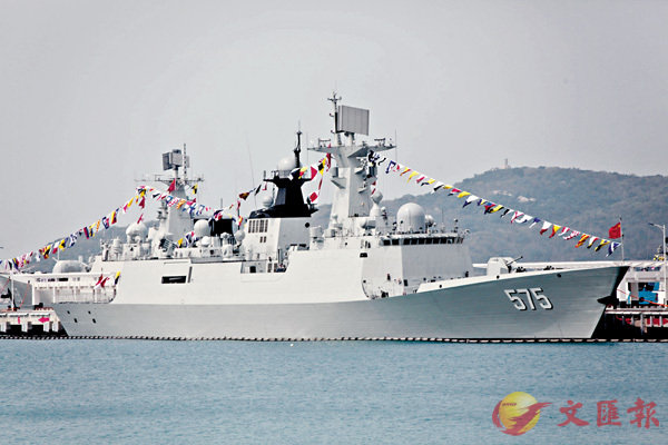 ■專家料巴方或最終採購中國054A型護衛艦。圖為中國自行研製設計生產的054A型多用途全封閉導彈護衛艦-「岳陽」艦。 資料圖片