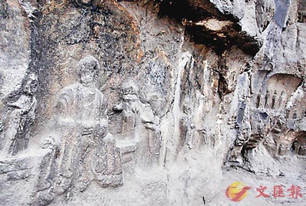 ■佛慧山上的摩崖石刻。 網上圖片