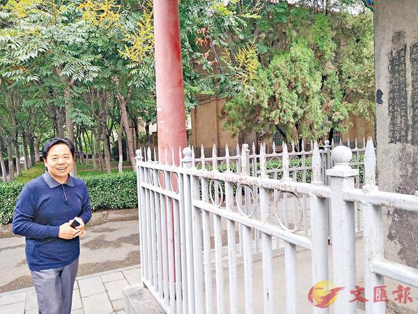 ■河南大學校史館館長王學春講述貢院變遷。