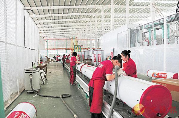 ■圖為玉溪的裝備製造業。 香港文匯報記者丁樹勇 攝