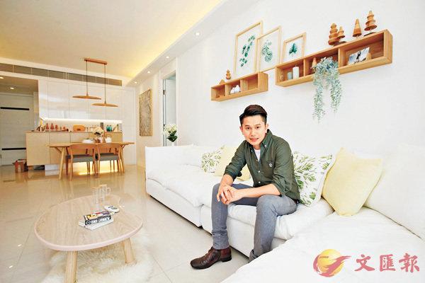 ■設計師陳兆德指,屋內一些細節經調整及配搭裝飾後,風格完全改變成日系自然感覺。