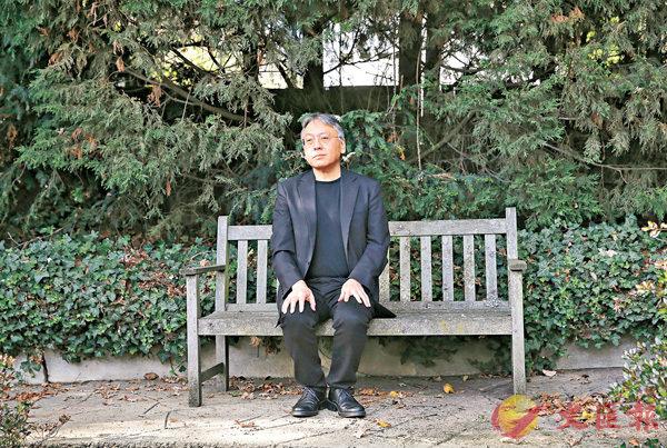 ■日裔英國籍作家石黑一雄奪得諾貝爾文學獎。 美聯社