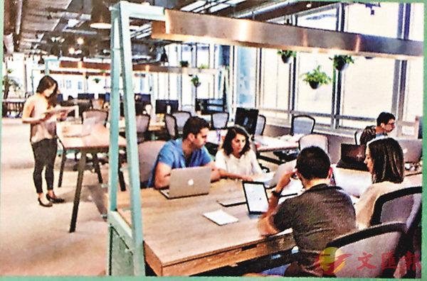 ■共用工作空間最受創業者和小型公司歡迎。 作者提供