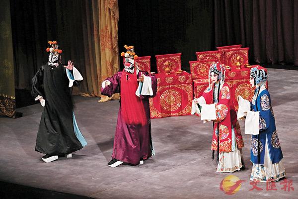 ■京劇院為觀眾獻上文武兼備的京劇經典劇目。