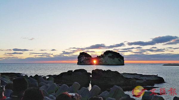 ■傳說中日落時太陽會進入昧谷,不過那是虛擬的地名。 資料圖片
